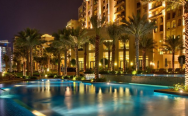 Отель Fairmont The Palm Dubai 5* на острове Пальма Джумейра.