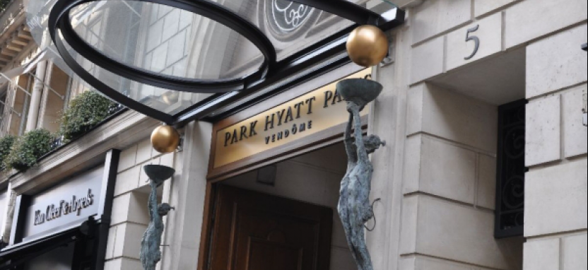 Отель Park Hyatt Paris-Vendome.